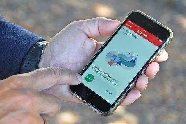 Das Handyticket kommt vielen Fahrgästen im Kreis Lörrach entgegen