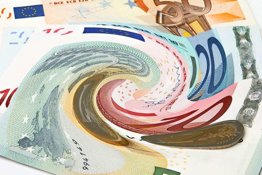Negativzinsen verringern das Vermögen der Sparer.     Foto: pit24 - Fotolia
