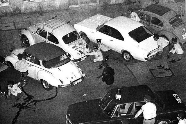 Vor 50 Jahren kam es zum ersten Banküberfall mit Geiselnahme in Deutschland