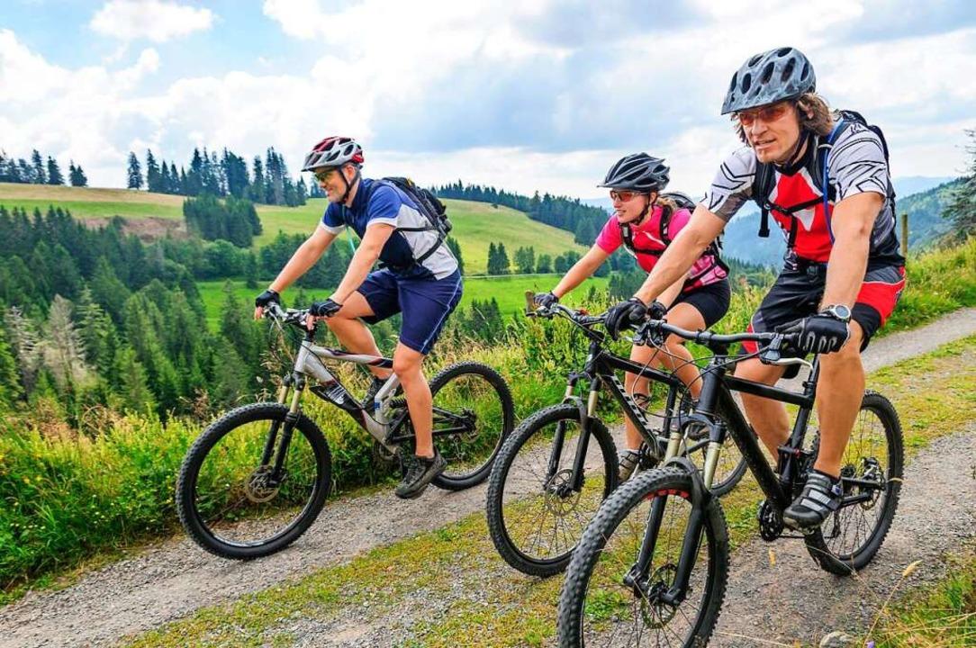 Mountainbiker bevölkern so manchen Weg im Schwarzwald.  | Foto: Alexander Rochau