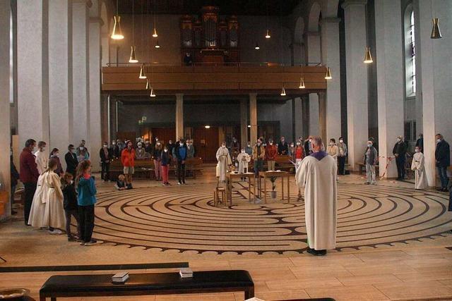 Labyrinth in Görwihler Kirche soll neue Kraft geben