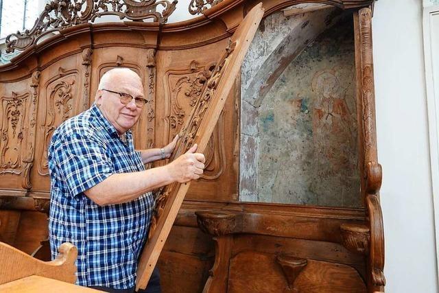 Stadtkirche Sankt Martin in Rheinfelden/Schweiz beherbergt viele Schätze