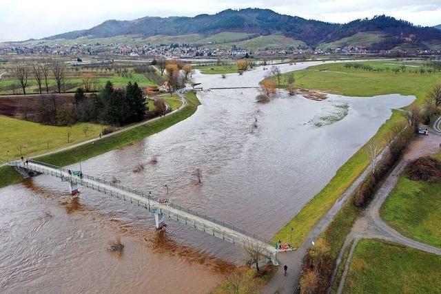 Hochwasser von 1851 in Offenburg: