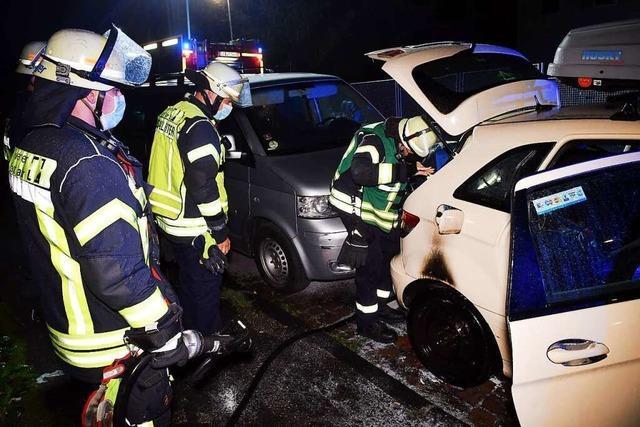 Verdacht in der Lahrer Autobrandserie hat sich nicht erhärtet