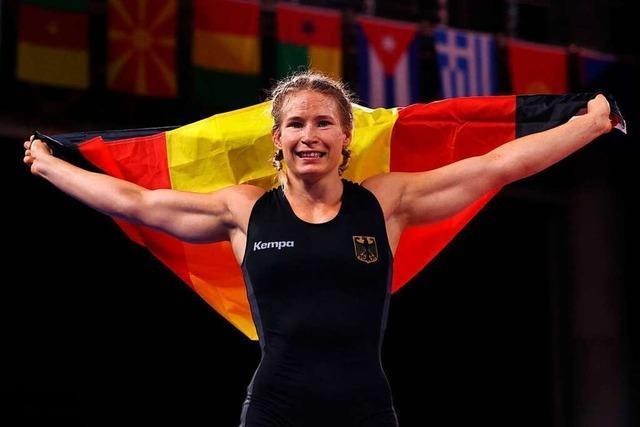 Wahl-Südbadenerin Aline Rotter-Focken erkämpft sich Gold im Ringen