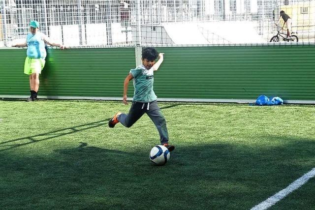 Fußballkäfig für die Jugend