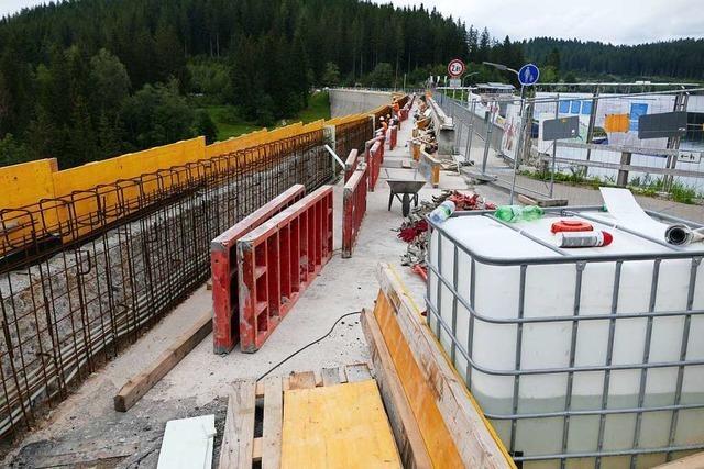 Betonschäden an Schluchsee-Staumauer sind schlimmer als gedacht