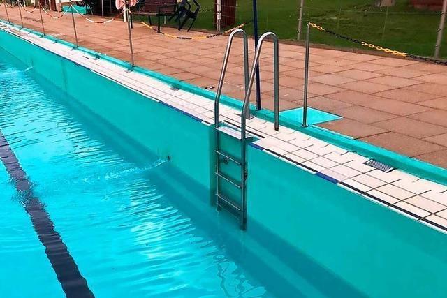 Schopfheimer Freibad verliert Wasser – und nicht zum ersten Mal