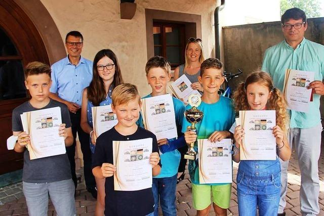 Grundschüler aus Eichstetten auf Platz eins der Schachbundesliga