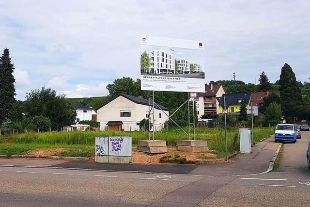 Der Bauverein Lahr erstellt drei neue Wohnhäuser