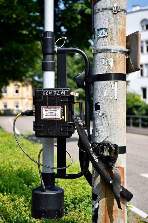 Das Projekt wird wissenschaftlich begl...er anderem mit solchen Kamerasystemen.  | Foto: Thomas Kunz