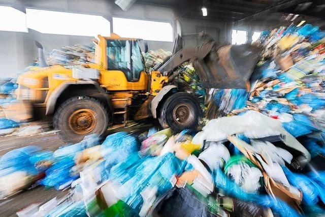 Freiburg hat von den Großstädten im Land am wenigsten Abfall