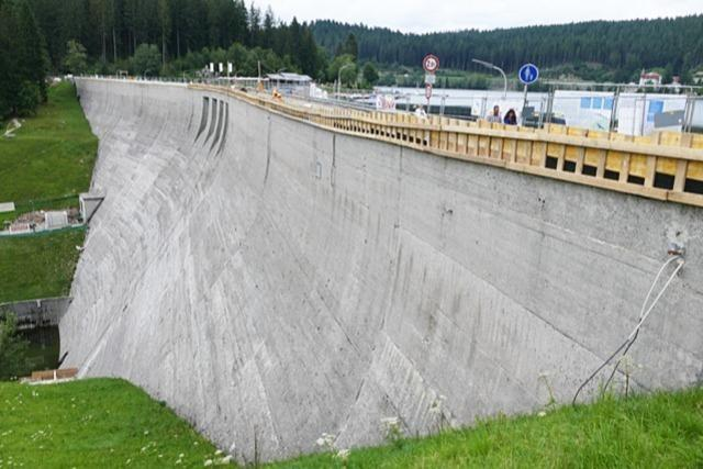 Schäden an Schluchsee-Staumauer sind schlimmer als gedacht