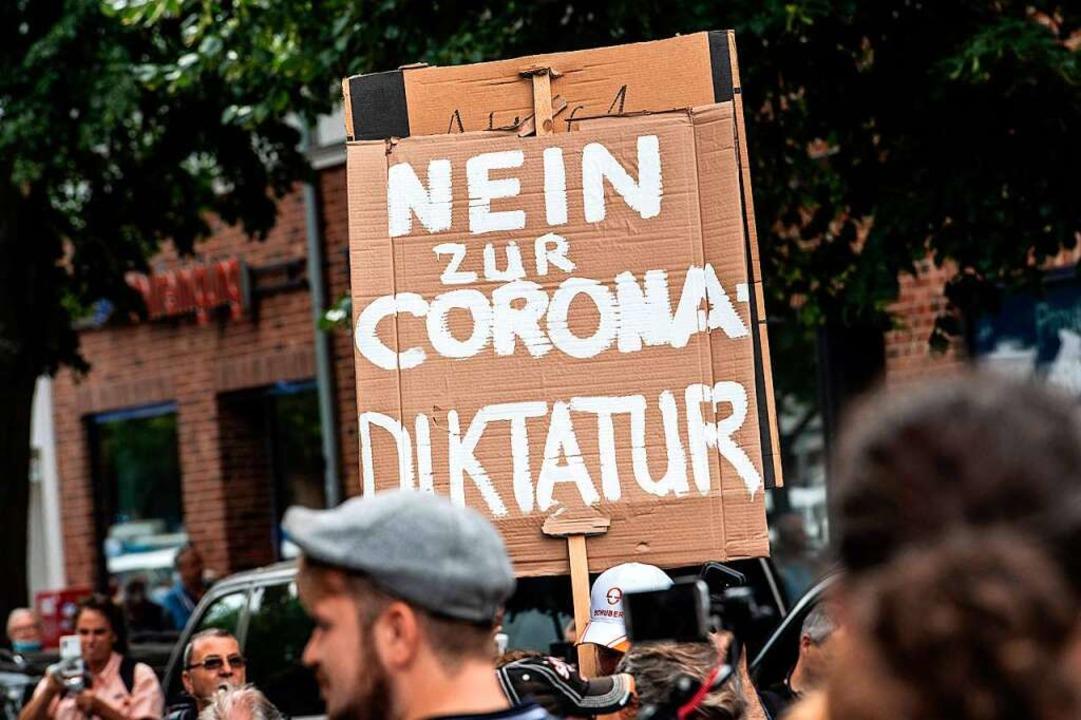Da wird die Demokratie zum totalitären...tion am vergangenen Sonntag in Berlin.    Foto: PAUL ZINKEN (AFP)