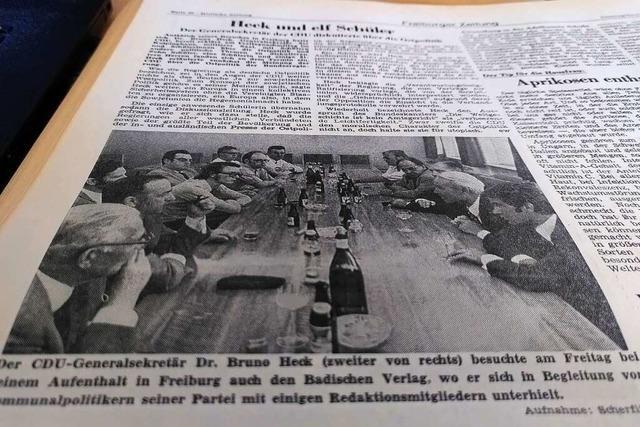 Im Sommer 1971 gab's Debatten über den Sozialismus und AKW-Pläne