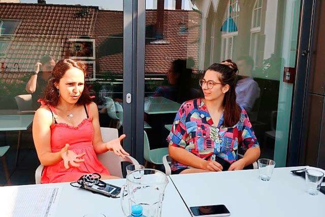 Kim Goldstein (links) und Laurina Xanthopoulos  | Foto: Lola Galli