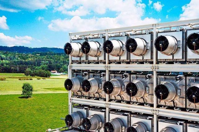 Riesige CO2-Filter sollen Erderwärmung und Klimawandel bremsen