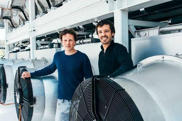 Zürcher Unternehmen will ein Prozent des ausgestoßenen CO<sub>2</sub> aus der Atmosphäre holen
