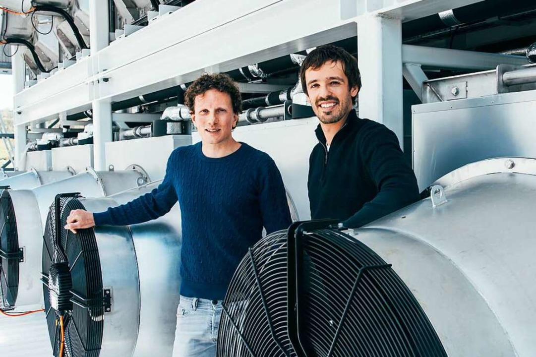 Jan Wurzbacher und Christoph Gebald  | Foto: Climeworks