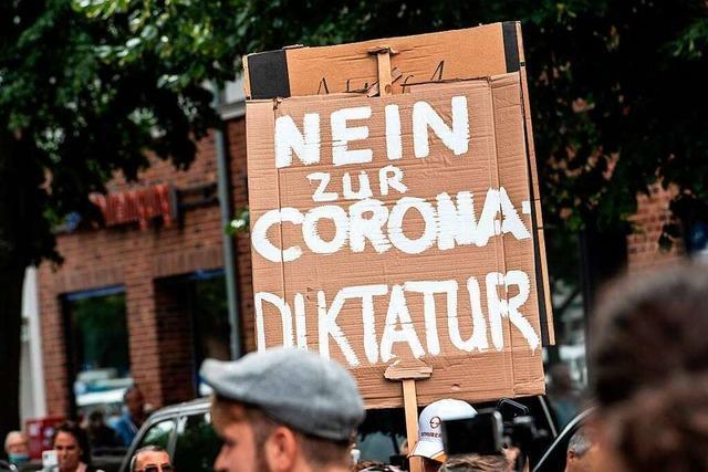 Die Querdenkerszene kultiviert ein verfassungsfeindliches Protestmilieu