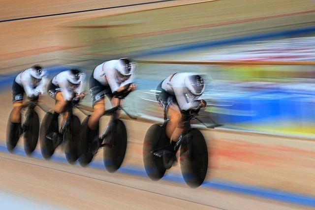Bahn-Vierer der Frauen gewinnt Olympia-Gold