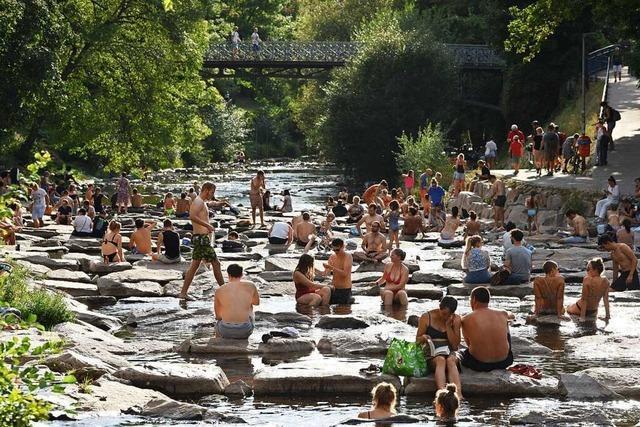 Der Juli war in Freiburg ein Sommermonat ohne