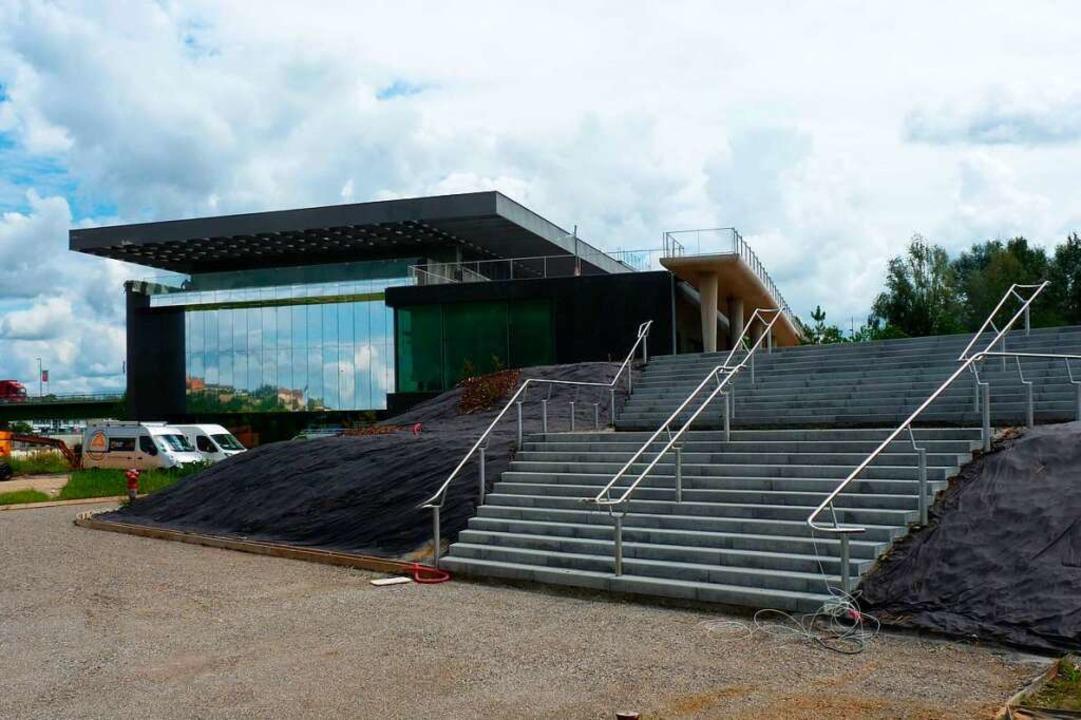 Das grenzüberschreitende Kulturzentrum...latz für die Infobest-Beratungsstelle.    Foto: Dirk Sattelberger