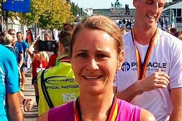 Das Laufen gibt der Lahrer Ärztin Christine Tunkel Energie für den ganzen Tag