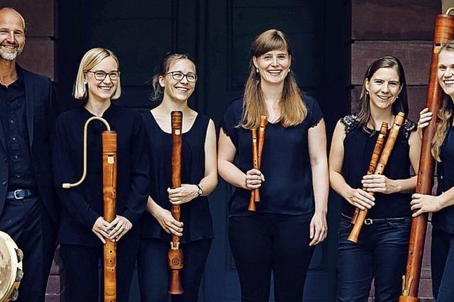 Das Flauto Consort spielt in der Kapelle St. Michael ein Zusatzkonzert