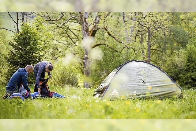 Trekking-Camps im Südschwarzwald buchbar