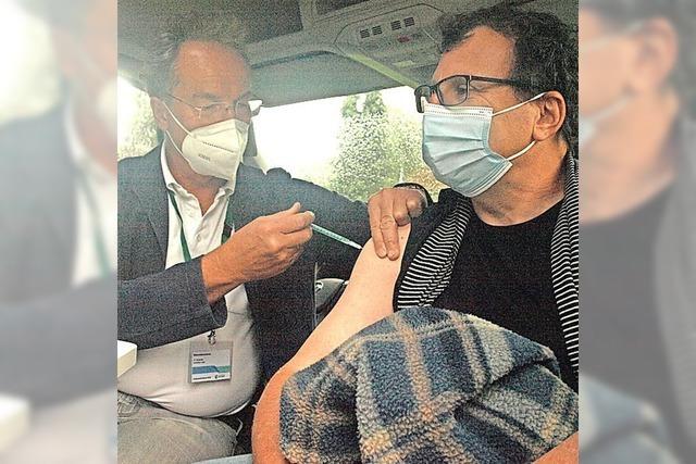 Mehr als 80 Menschen wollten geimpft werden