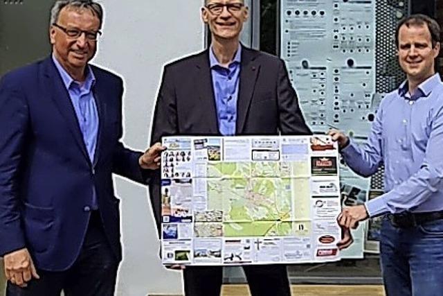 Mit QR-Codes zu den Firmen in Umkirch