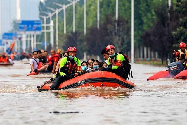 Chinas Städte sind auf den Klimawandel nicht ausreichend vorbereitet