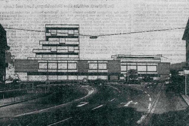 Seit 50 Jahren plant Weil am Rhein den Bau eines Stadtzentrums