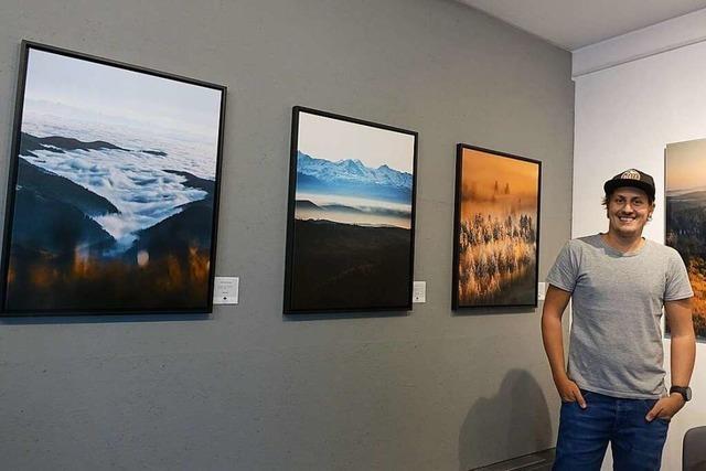 Der Fotograf Michael Corona hat in Todtnau seine Black-Forest-Galerie eröffnet