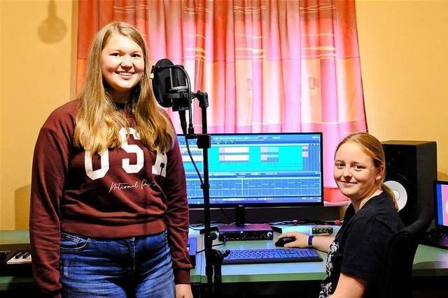 Bonndorfer Schülerinnen nehmen Song für den