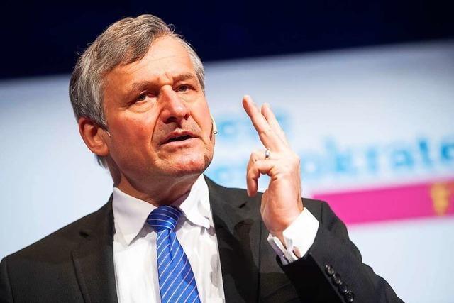 FDP-Fraktionschef Hans-Ulrich Rülke rät seiner Partei von einer Koalition mit den Grünen ab