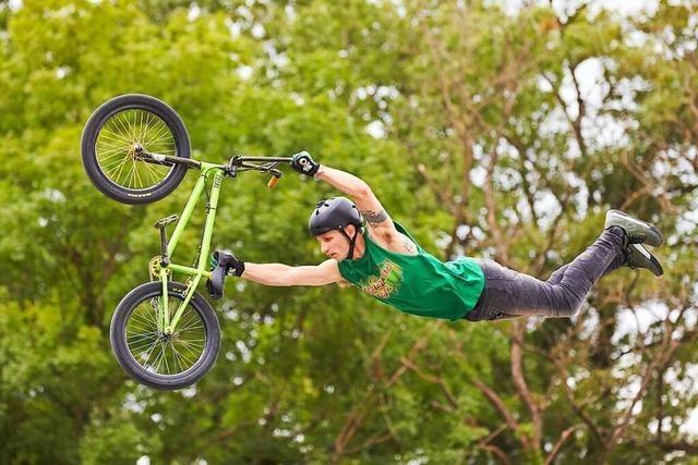 Beim Basler Bikefestival kann man Profis zuschauen und mitmachen