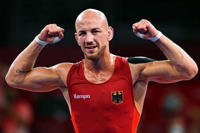Abschied mit Bronze: Ringer Stäbler bannt seinen Olympia-Fluch