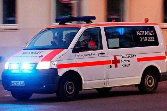 Drei Verletzte nach Unfall an einer Kreuzung in Lörrach