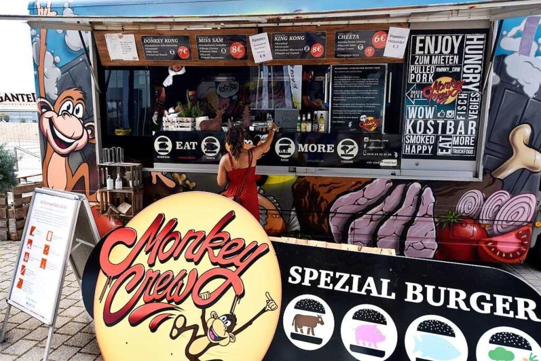 An allen Ständen des Street Food Marke...ür erstmals Geimpfte eingelöst werden.    Foto: Thomas Kunz