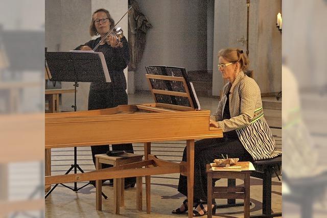 Werke barocker Komponistinnen