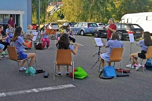 Hauinger Jungmusiker begeistern das Publikum