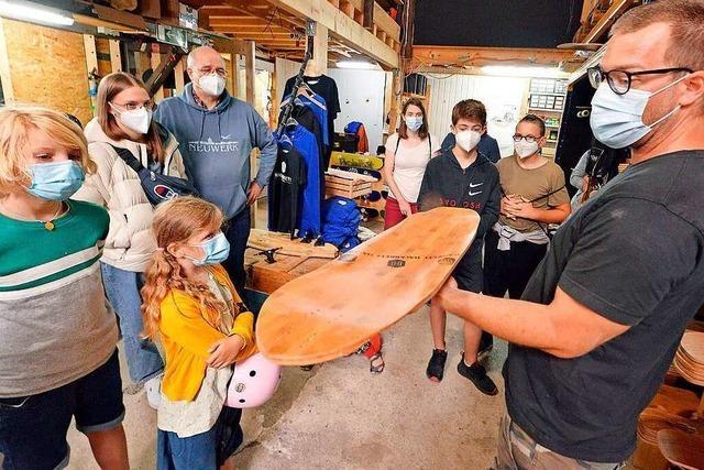 BZ-Ferienaktion: Longboards bauen