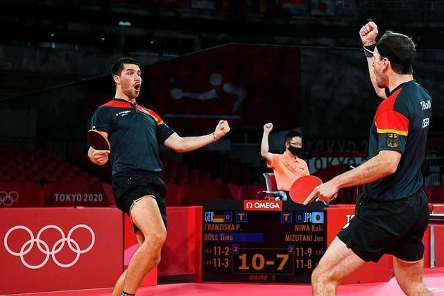 Deutsches Team steht im Olympia-Finale gegen China