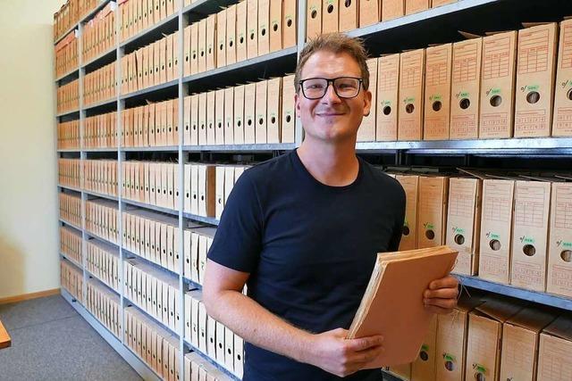 Das Stadtarchiv Schopfheim soll digitaler werden