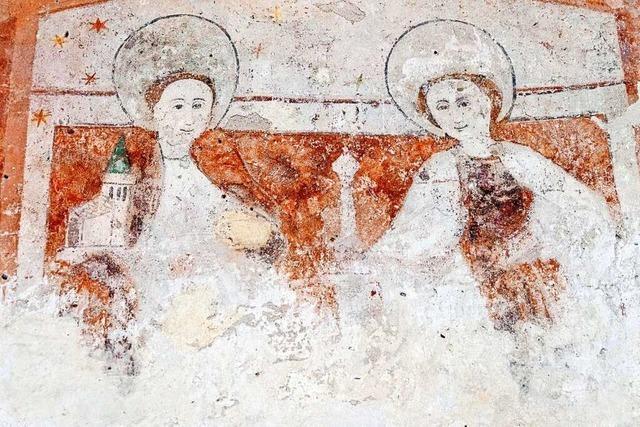 Vituskapelle bei Wasenweiler zeigt versunkene Bilderwelten