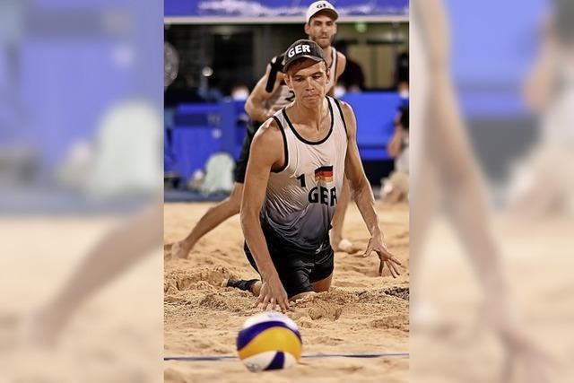 Endstation Viertelfinale im Sand
