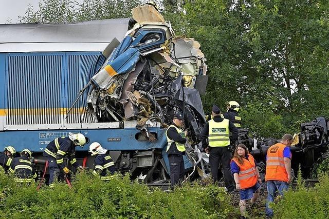 Tote bei Zugunglück in Tschechien