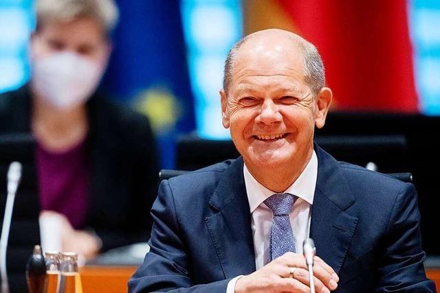 Die SPD schwächelt in Umfragen, aber Olaf Scholz bekommt gute Noten
